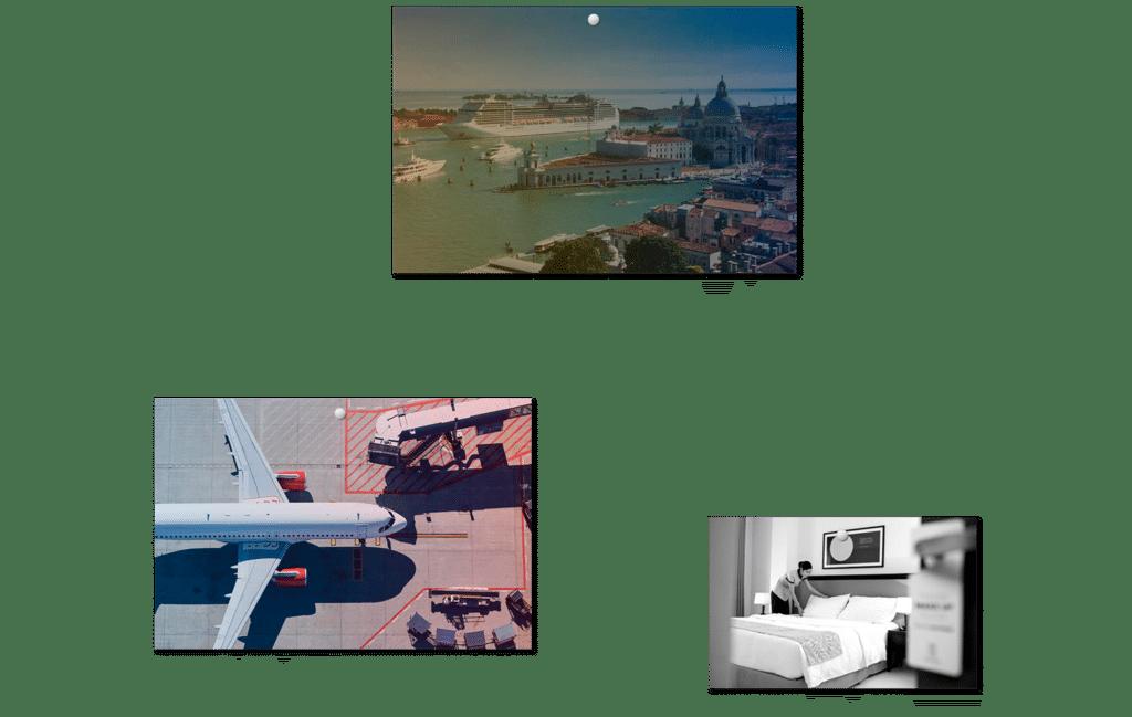 Travel Communications moodboard 1